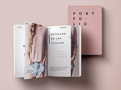 Portfolio Edition | Fashion Student pink fashion story print design collection stripes book magazine editorial