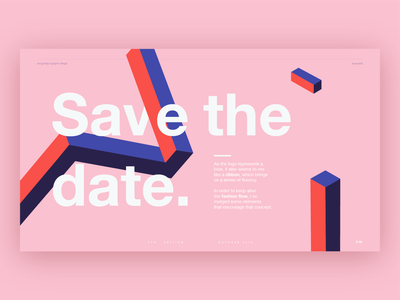 Miami Fashion Film Festival 2019 pink illustration shapes vector design logo typography branding editorial festival
