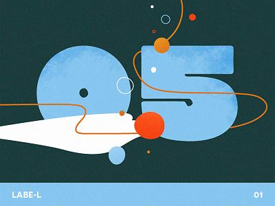 Labe-L #01 argentina buenos aires aquatic aqua sea ocean water letters festival numbers shapes branding