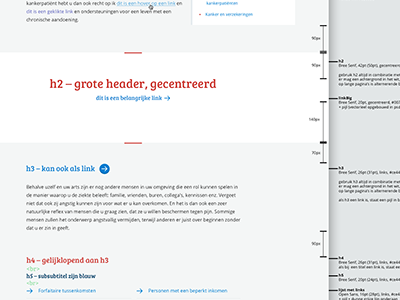 AOK Styleguide styleguide ui typography