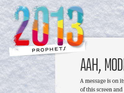 end of year interactive greeting card snow color typo atrament photoshop
