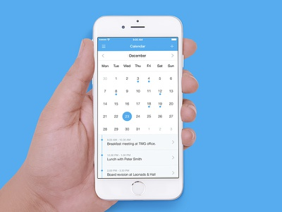 Calendar iphone apple date calendar app ios