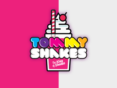 Tommy Shakes Logo Concept