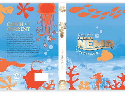 Findingnemo Hc Jacket print book design cover design