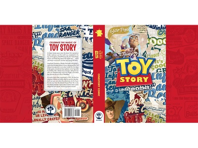 Toy Story Hard cover Jacket print book design cover design