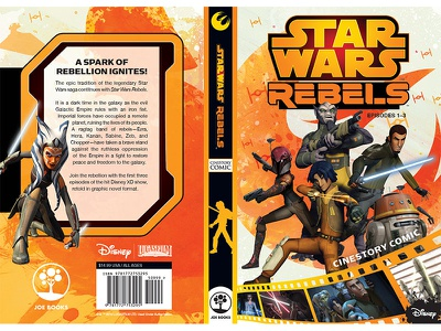 Star Wars Mass Market cover print book design cover design