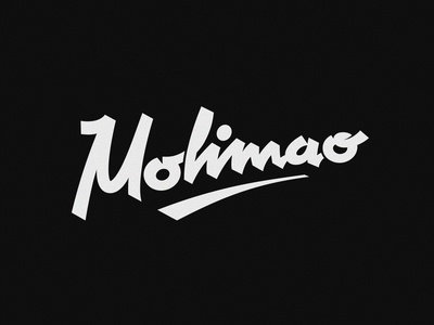Molimao vintage script