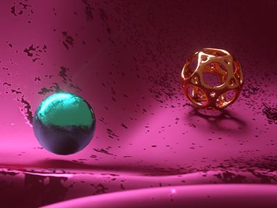CnM/#7 steel motion graphics motion metal materials balls glass creative cinema 4d design c4d 3d