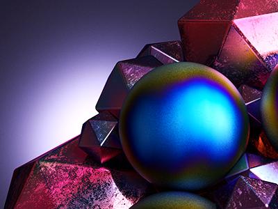 CnM/#13 motion graphics motion materials light design cinema 4d c4d balls 3d