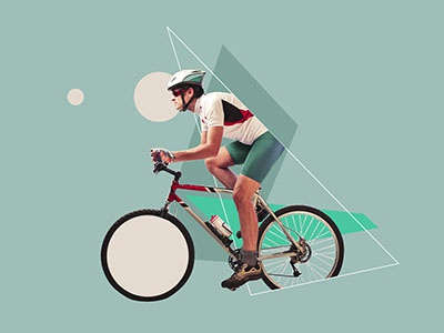 Healthy Sports #1 design faded colors after effects 2d intro collage sports feedback
