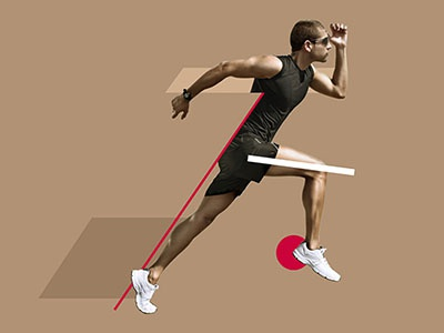 Healthy Sports #2 feedback sports collage intro 2d after effects colors faded design