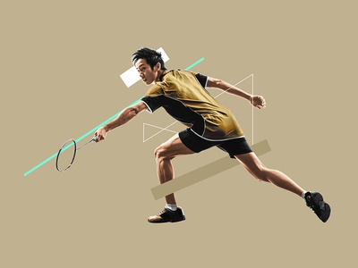 Healthy Sports #3 feedback sports collage intro 2d after effects colors faded design