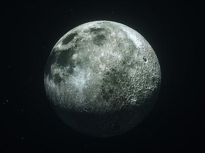 Moonwalker #1 motion graphics motion design cinema 4d c4d 3d moonwalker sci fi space astronaut moon