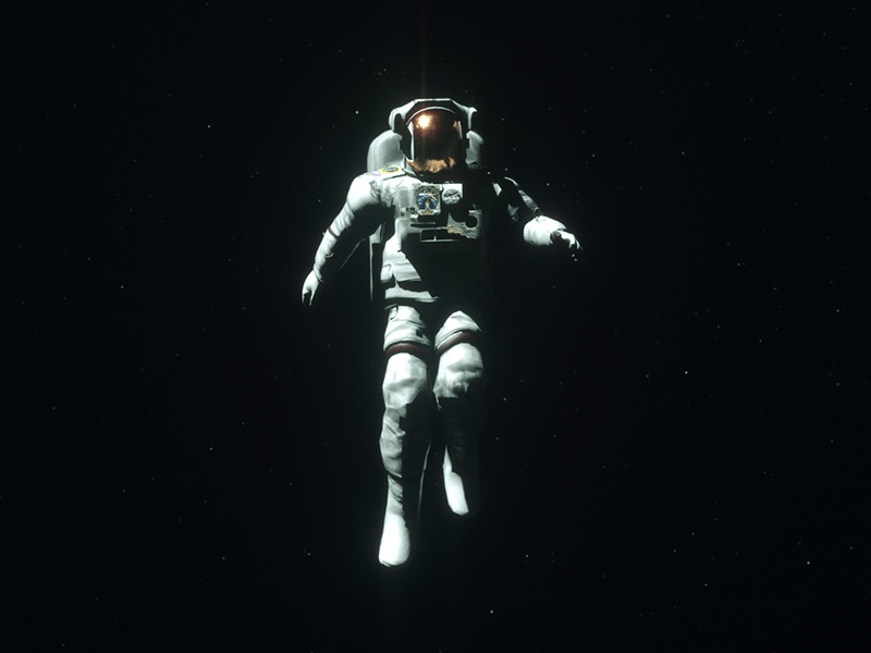Moonwalker #5 motion graphics motion design cinema 4d c4d 3d moonwalker sci fi space astronaut moon