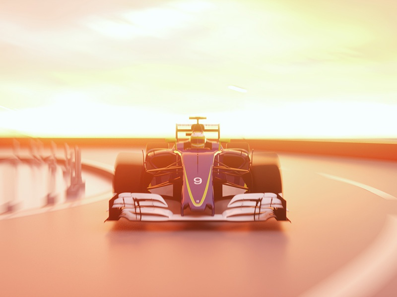 Matgeek goes Monaco #1 grand prix gp motion graphics car race speed 3d formula 1 f1 monaco