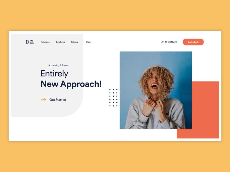 Landing Screen photograhy typography homepage ui ux minimalist cta button landing landing page design banner