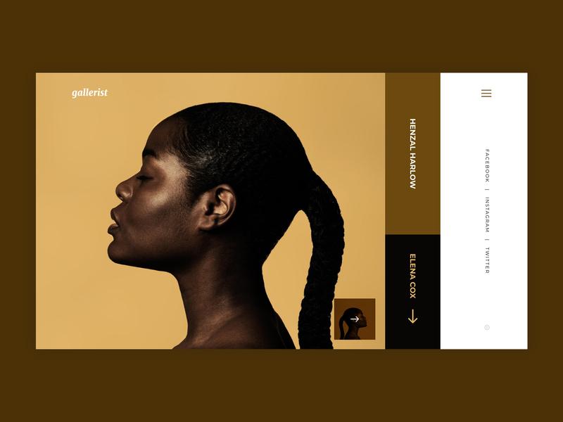 Portfolio Design ui design uxdesign animation typography website portfolio design portfolio hero banner ui ux