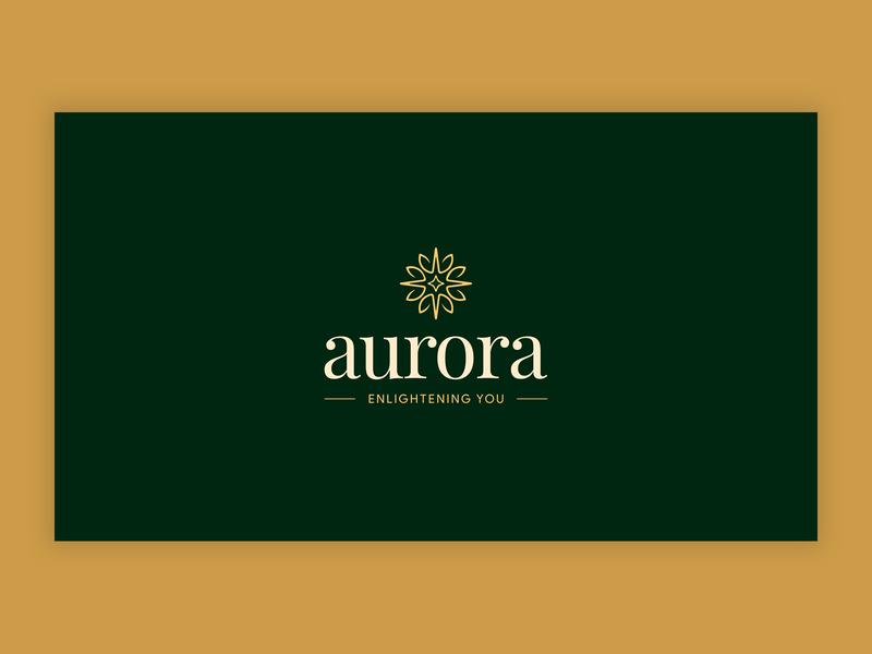 aurora ux brand design ux design branding design logotype vector branding logo design logo