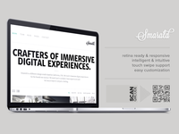 Smarald Retina Ready Responsive Wordpress Theme