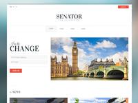 Senator - Minimalist Political Theme
