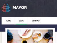 Mayor - Political WordPress Theme