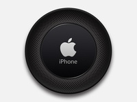 Iphone Speaker vector branding layout logo icon ios template apple photoshoped illustration ux ui speaker iphone