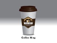 Coffee Cup character uiux vector branding portfolio mockup theme design web design logo illustration creative concept icons coffee cup