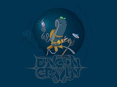 Dungeon Crawlin' adobe illustrator video games rpg vector illustration