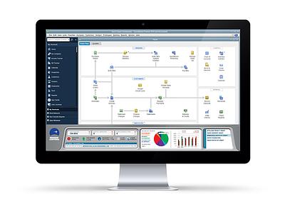 Mission Control Dashboard UI (In Context) vector ui non-profit financial dashboard