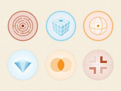 Common Media Culture & Case Study Icons illustration web design graphic design icon vector illustrator
