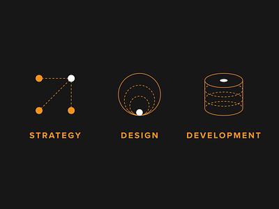 Common Media Homepage Icons illustration web design graphic design icon vector illustrator