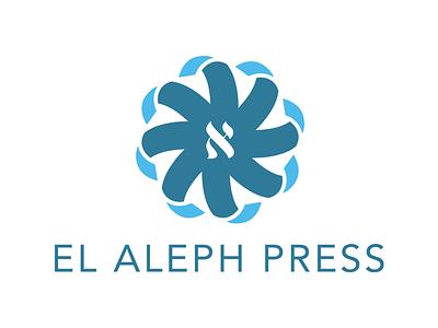 El Aleph Logo logo design vector illustrator identity branding logo