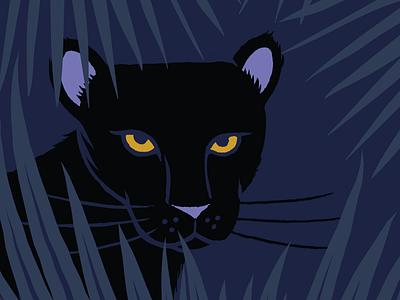 Little Mojo เสือดำ (Panther) Sweatshirt Design panther adobe illustrator apparel design kids clothing illustration
