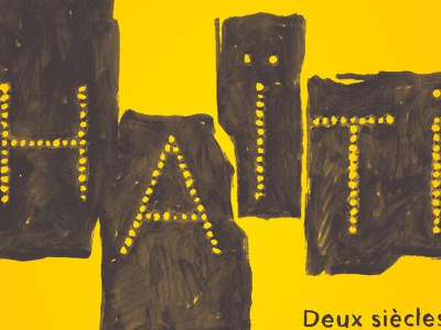 Haiti print rennes paris grand palais exposition édition haïti