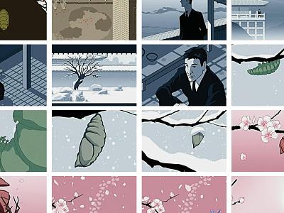 Etienne Daho - Retour à toi étienne daho colorisation video clip animation