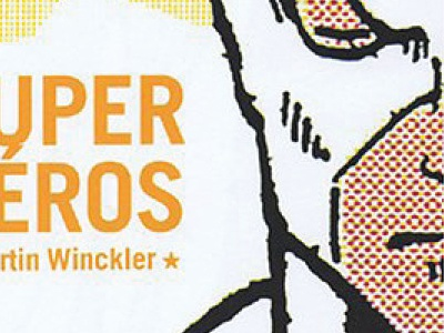 Super Héros - Martin Winckler livre print édition mise en page layout