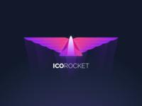 ICO Rocket Logo (coins.expert)