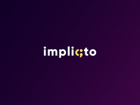 Implicto - Logo Concept programming software house software clean logo branding