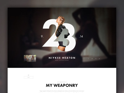 Bad Intentions design graphics luxury clean music girl steeze web concept minimal women instagram