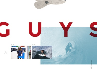 REEF  white space typography minimal waves web design design extreme sports grid water sports nike surf