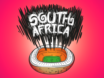 South Africa - Adidas Office icon football world cup south africa adidas calligraphy typography jtitogouveia graphic design illustration j.tito gouveia