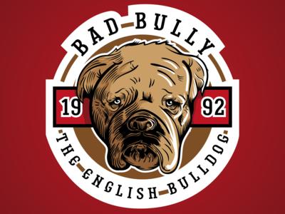 Bad Bully the English Bulldog