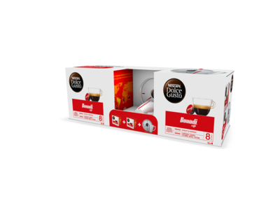 Pack Chavena Nescafé® Dolce Gusto® wolt buondi coffee coffee cup product design packaging vector design jtitogouveia graphic design j.tito gouveia