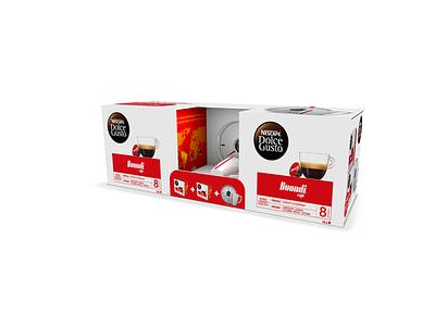 Pack Chavena Nescafé® Dolce Gusto® wolt buondi coffee coffee cup product design packaging vector design jtitogouveia graphic design j.tito gouveia