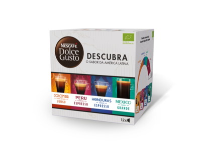 Pack Descubra packaging nestle nescafé nescafé dolce gusto design illustration graphic design j.tito gouveia