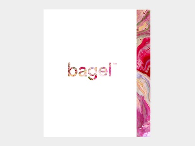 bagel™ - visual identity photo food bagel logo art direction branding design