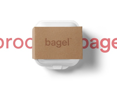 bagel™ - visual identity packaging logo art direction branding design