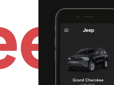 Jeep Visual Redesign web ux ui logo art direction identity branding redesign