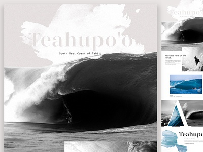Pro'Surfers landing  inspiration art direction ui website landing surf design
