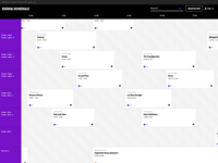 Schedule - Grid View